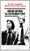 All the Presidents Men movie poster