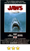 Jaws movie poster