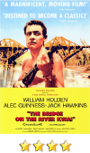 he Bridge on the River Kwai movie poster