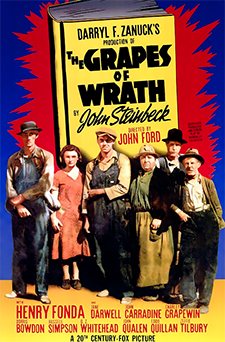 The Grapes of Wrath original movie poster