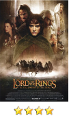 Lord of the Rings: Fellowship of the Ring movie poster