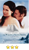 The Widow of Saint Pierre movie poster